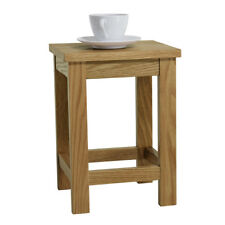Small Solid Oak Sofa Side Table Occasional Lamp End Console Stand Unit Furniture