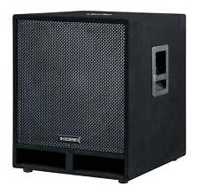 DJ PA Subwoofer Disco Bass Party Box 45cm (18
