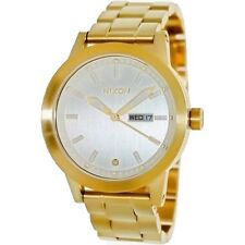 Nixon Spur Gold Stainless-Steel Quartz With Silver Dial A263502-00 Men's Watch