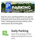 Any SIX FLAGS Park! Magic Mountain Great America, etc Day Parking Pass 2021!