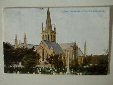 Yarmouth Norfolk St Nicholas Church Early 1900s Old Postcard 1911 Photochrom