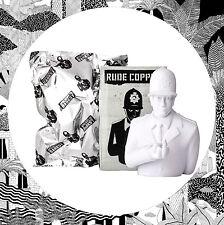 """Ci scusiamo per Banksy 6"""" Maleducato Rame Bianco Kidrobot Scultura Art giocattolo POLIZIOTTO"""
