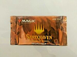 MTG Magic Gathering Strixhaven Promo Pack SEALED (multiples available)