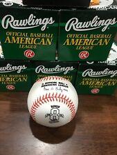 CAL RIPKEN JR OFFICIAL RAWLINGS #8 2130 2131 COMMEMORATIVE MLB BASEBALL
