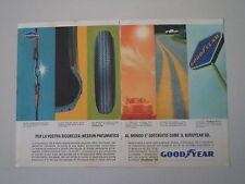 advertising Pubblicità 1964 PNEUMATICI GOODYEAR