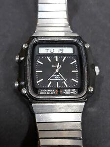 Vintage Seiko Sports 100 Chronograph H357-5110 Men's Wrist Watch Analog Digital