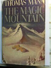 1st Edition THE MAGIC MOUNTAIN Thomas Mann FIRST PRINTING thus NOBEL PRIZE Rare