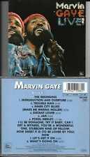 CD 8 TITRES MARVIN GAYE LIVE TAMLA MOTOWN WD72086 GERMANY DE 1990