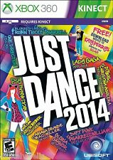Just Dance 2014 Microsoft Xbox 360 Brand New Sealed Fast Shioping