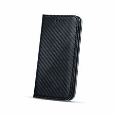 ^ Smart imán bolso funda estuche book case flip Apple iPhone 5c negro carbon
