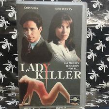LADY KILLER (Michael Scott) VHS . John Shea, Mimi Rogers, Tom Irwin, Alice Krige