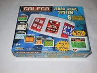 2005 COLECO 6 SPORTS GAMES IN ONE PLUG & PLAY VIDEO GAME SYSTEM #60400 NIOB