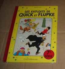 QUICK ET FLUPKE SERIE 7 SOUS CELLO RE Hergé (auteur Tintin )