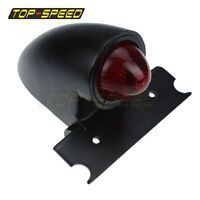 Black 12V Sparto Vintage Taillight Brake Light For Harley Bobber Chopper Custom