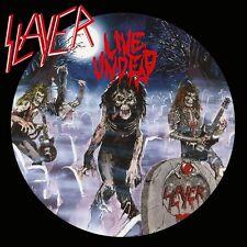 Slayer Live Undead 180 g 1LP Vinile+Poster + Lyric/Picture 2015 Metallo Blade