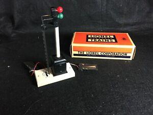 Vintage Lionel No. 253 Automatic Block Signal In Original Box