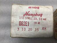 HUMPHREY M310-39-87-RC-120VAC-50//60 NEW IN BOX M3103987RC120VAC5060