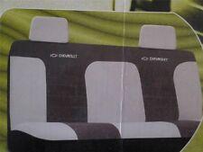 SEAT COVERS BENCH SEATS CHEVROLET BOWTIE EMBLEM CHEVY TRUCK VAN