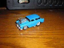 1/64 Funline Muscle Machines Blown Pro Street 1955 '55 Chevy Nomad Bel Air Wagon