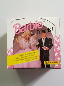 1992 BARBIE AND FRIENDS FACTORY BOXED TRADING CARD SET w/ STICKERS never opened
