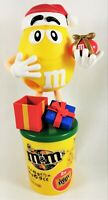 M&M Candy MM Dispenser Christmas Gift Limited Germany Yellow Box Figurine Gifts