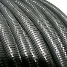 "New 50' Feet FT 1"" Black Split Loom Wire Flexible Tubing Wire Conduit Hose Audio"