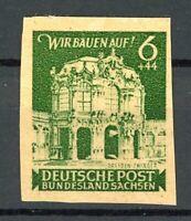 SBZ Ost-Sachsen MiNr. 64 a GU postfrisch MNH geprüft Ströh (MA941