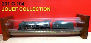 JOUEF FRANCE COLLECT. LOCO 231 G 104  SERIE LIM.0377 DANS SON COFFRET TUBE NEUF