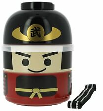Kokeshi Bento Box, Bushi, Double Lunch Box, Made in Japan