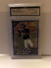 ROOKIE CARD 2000 TOPPS #385 TRAVIS TAYLOR GRADED A 10