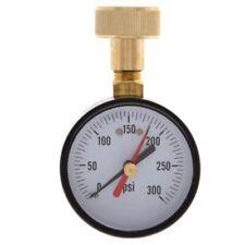 Water Pressure Test Gauge Home Female Garden Hose Thread 3/4inch