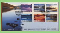 New Zealand 2000 Scenic issue set on First Day Cover