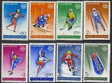 1987 CALGARY Olympics,Bobsled,Ice Hockey,Biathlon,Luge,Ski,Romania,Mi.4418,MNH