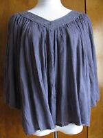 Ralph Lauren Denim & Supply women's washed purple cotton viscose top  M L XL NWT
