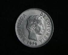 1970 20 Centavos Colombia World Coin Santander KM237 twenty cents Veinte