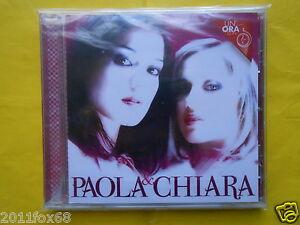 cd's cds un'ora con paola e chiara un'ora con paola & chiara cd 2012 sigillato f
