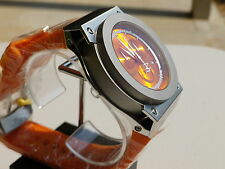 Invicta Men's 1354 Akula Reserve Chronograph Orange Dial Orange Polyurethane Wat