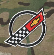 """VETTE CORVETTE RACE TEAM '84-'96 Corvette C4 FRONT HOOD NOSE EMBLEM 3.5"""" PATCH"""