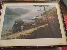 Douglas A. Manning Train 2860 Signed Print