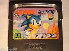 SONIC THE HEDGEHOG SEGA GAME GEAR SONIC THE HEDGEHOG GAME GEAR