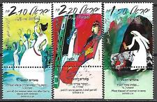 Israel Stamps MNH With Tab Year 2007 Jewish New Year Fine Womans