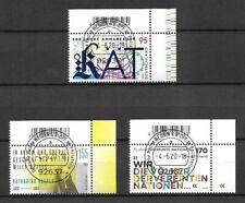 Bund Mi.Nr. 3547-3549 (2020) gestempelt mit EST/Neuausgaben Juni