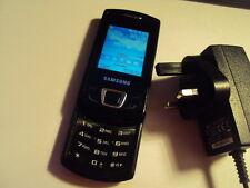 EASY ELDERLY KIDS  Samsung Monte Slide GT-E2550 MOBILE PHONE UNLOCKED +CHARGER