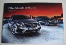 Class E 2013 Car Sales Brochures