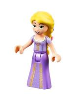 Lego Rapunzel 41065 with 2 Flowers in Hair Disney Princess Minifigure