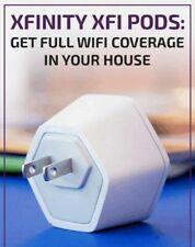 NEW Comcast xFinity xFi WIFI Pods Network Extenders!  (ONE POD)