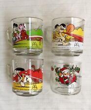Original Vtg 70s 80s Garfield Mug Cup Lot Of 4 McDonald's Other