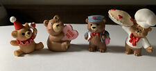Hallmark Valentine Merry Miniatures Lot Of Four