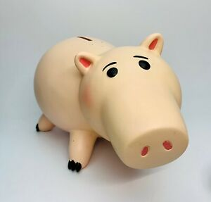 RARE Toy Story 3 Ceramic Hamm Piggy Bank Disney Store LARGE Collector 2010 12""