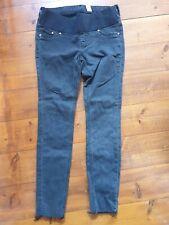 H&M Black Under Bump Maternity Jeans Size 12